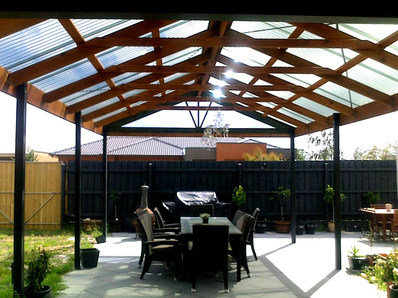 what type of roofing is best for your pergola carport or