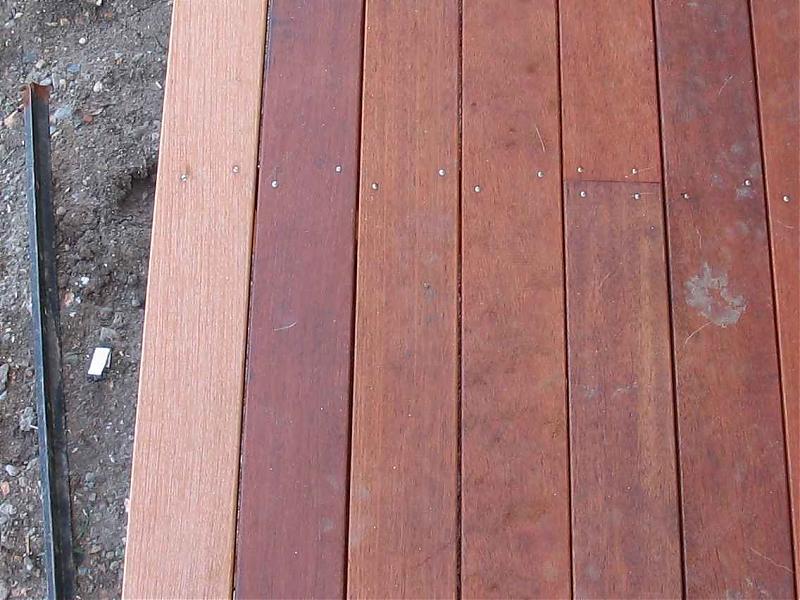 Merbau Top Shelf Carpentry